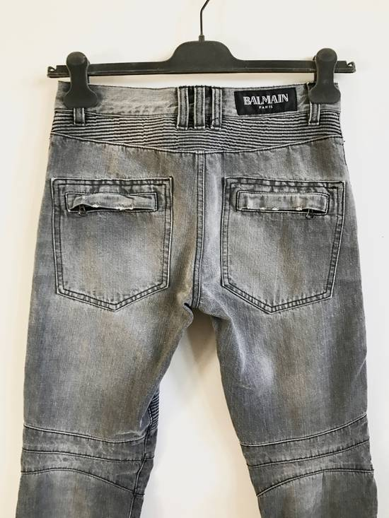 Balmain FW10 Decarnin Biker Jeans Size US 29 - 4