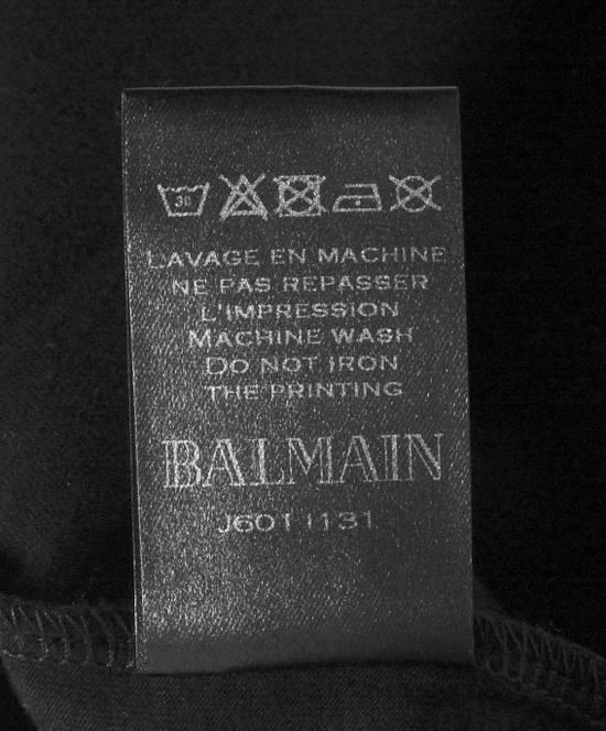 Balmain Original Balmain Crewneck Black Men T-shirt in size L Size US L / EU 52-54 / 3 - 5