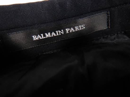 Balmain Balmain Paris Flex Black Short Suit Blazer Jacket Size 38S Size 38S - 4