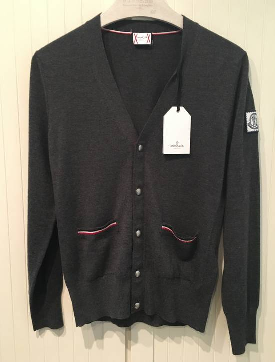 Thom Browne Gamme Bleu Wool Knitted Cardigan in Grey Size US M / EU 48-50 / 2