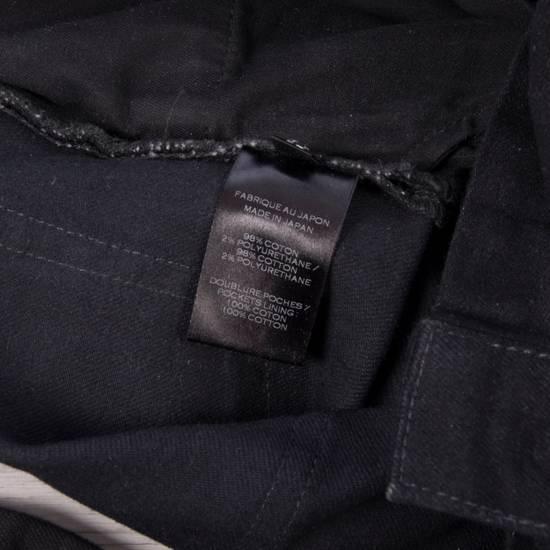 Balmain 1495$ Waxed Cargo Biker Jeans In Black Denim Size US 32 / EU 48 - 12