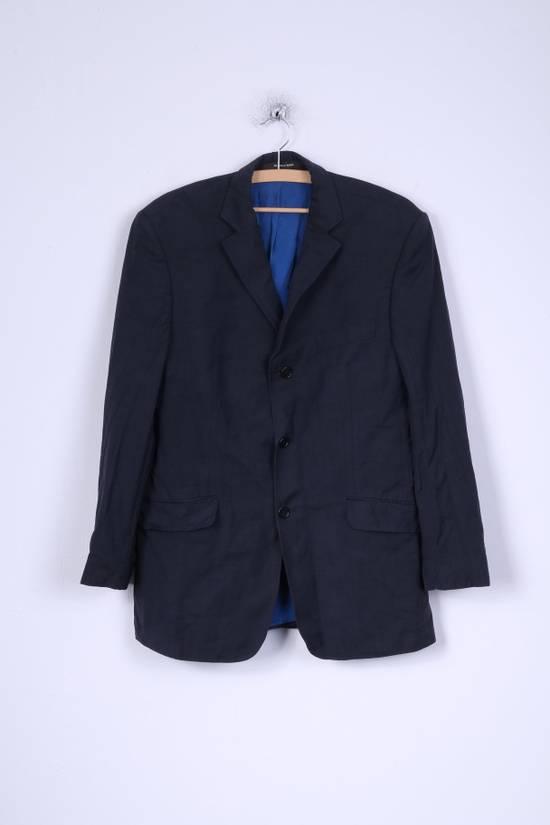 Balmain Balmain Mens 40 M Jacket Navy Wool Single Breasted Blazer 4515 Size 40R