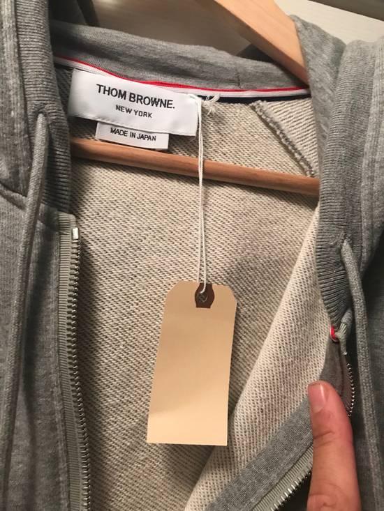 Thom Browne Classic Grey Zip Up Hoodie Size US L / EU 52-54 / 3 - 6