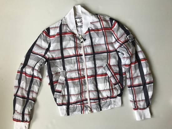 Thom Browne Check Pattern Stadium Jacket Size US S / EU 44-46 / 1