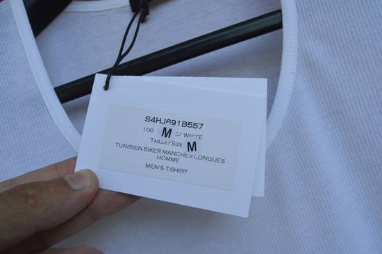 Balmain White Ribbed T-shirt Size US M / EU 48-50 / 2 - 7