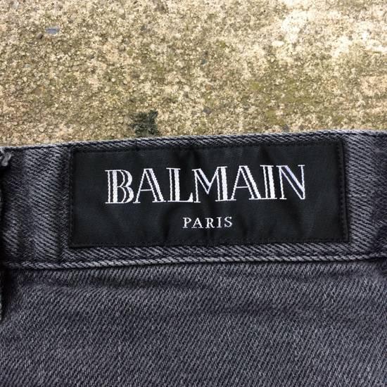 Balmain Gray Balmain Skinny Jeans Size US 27 - 13