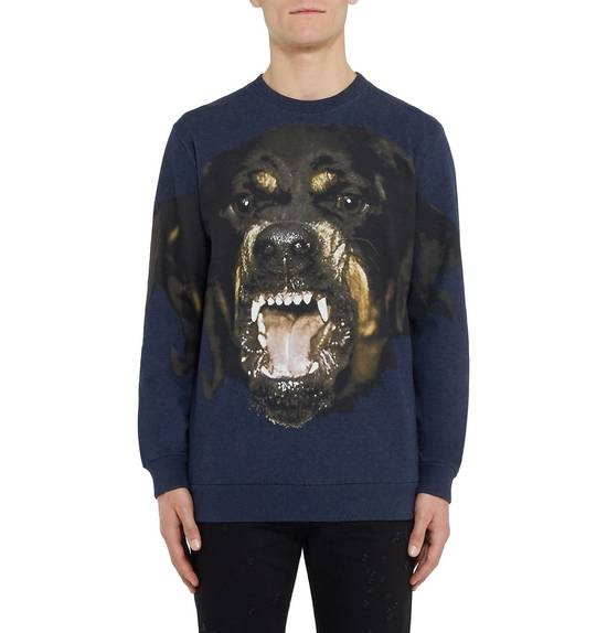 Givenchy Blue Rottweiler Sweater Size US S / EU 44-46 / 1 - 2