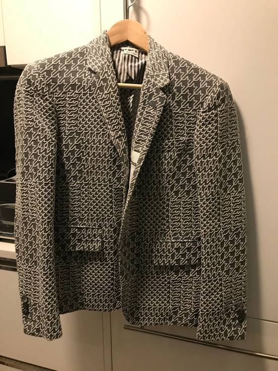 Thom Browne beautiful Embroidered Blazer Size 46S