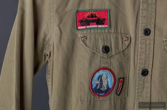 Julius = last drop = Collectors piece: 2003SS patch shirt Size US S / EU 44-46 / 1 - 4