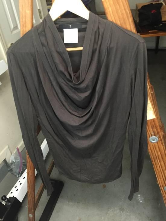 Julius AW07 Giza Cotton Drape Neck Longsleeve Size US S / EU 44-46 / 1 - 1