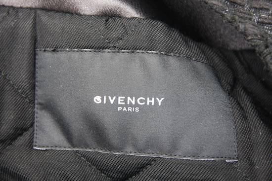Givenchy $8k AW13 Givenchy Black Tweed & Leather Biker Jacket Size 48 Size US M / EU 48-50 / 2 - 11
