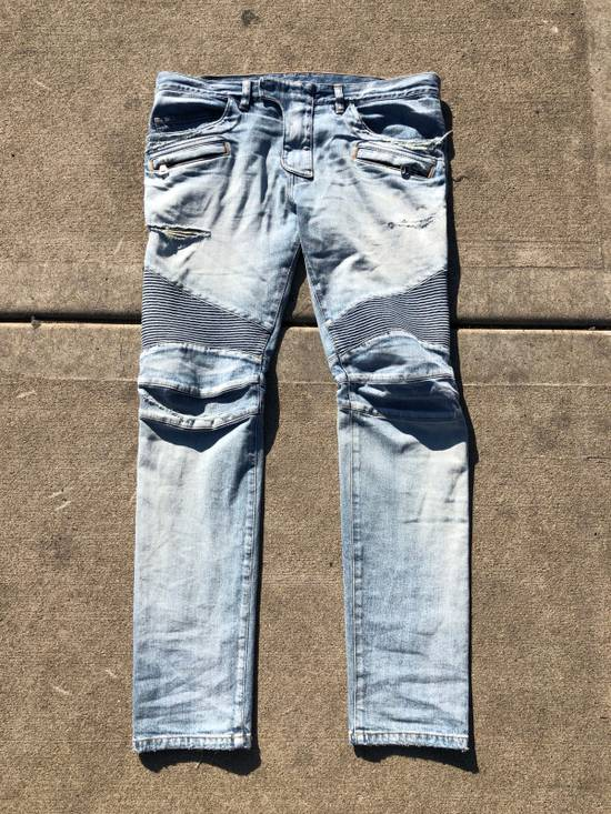 Balmain Balmain Denim Light Indigo Basically Brand New ! Size US 34 / EU 50