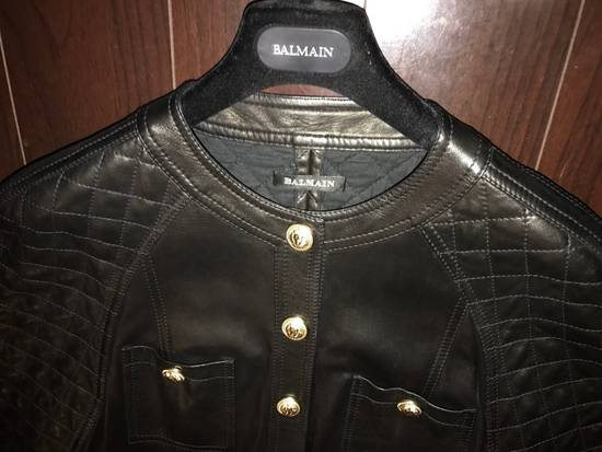 Balmain Balmain Spring 2014 Leather Jumpsuit Size US XL / EU 56 / 4 - 12