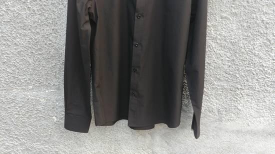 Givenchy $520 Givenchy Black Star Embroidered Rottweiler Shark Men's Shirt size 41 (L) Size US L / EU 52-54 / 3 - 7
