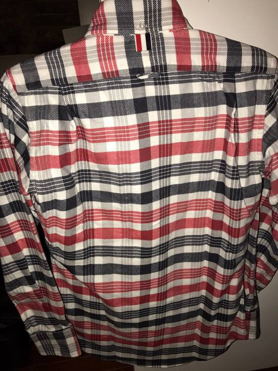 Thom Browne Plaid Long Sleeve Buttoned Shirt Size US XS / EU 42 / 0 - 1