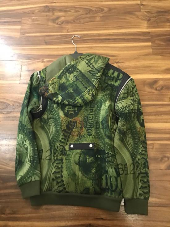 Givenchy Padded Removable Sleeve C Note Printed Jacket Size US M / EU 48-50 / 2 - 7