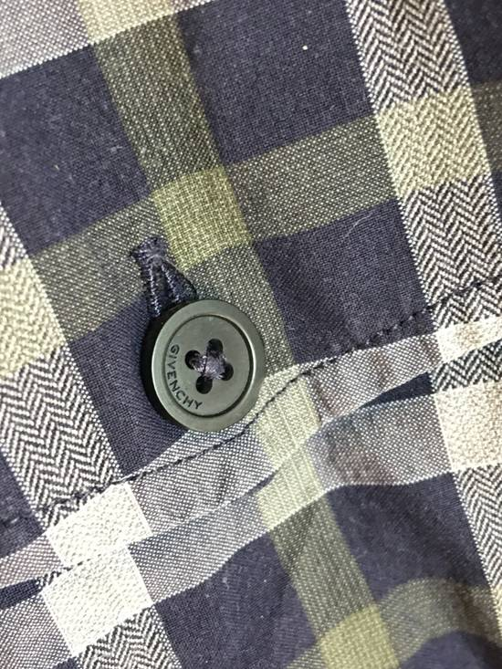 Givenchy Checked Cotton Shirt Size US M / EU 48-50 / 2 - 5