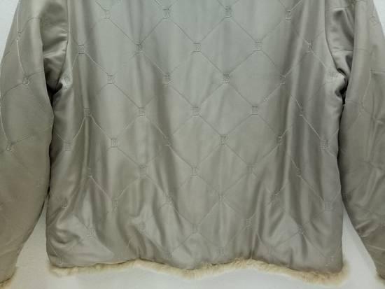 Balmain Vintage Balmain Paris Fur and Silk Reversible Jacket RARE Design Size US L / EU 52-54 / 3 - 11
