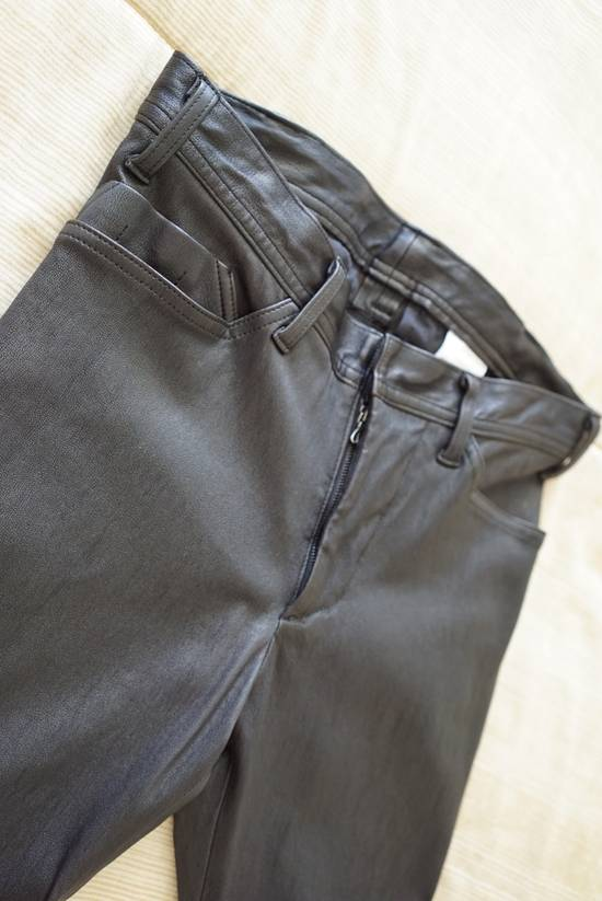 Julius Deerskin Leather Biker Pants Size US 30 / EU 46 - 4