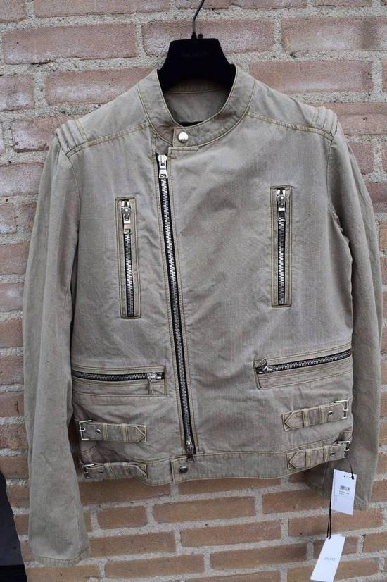 Balmain Balmain Authentic $1890 Cotton Biker Jacket Size L Brand New Condition Size US L / EU 52-54 / 3