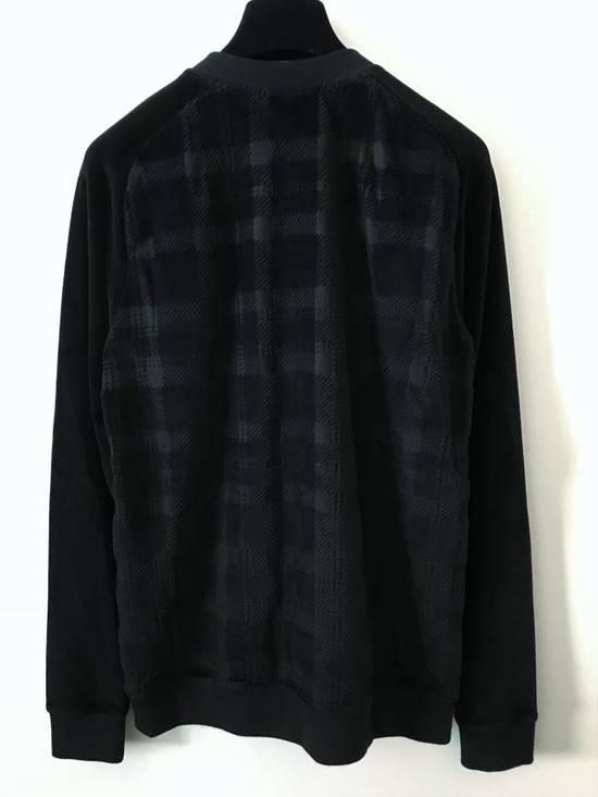 Balmain Size Small - Checked Button Shoulder Sweatshirt- FW16 - $1050 Retail Size US S / EU 44-46 / 1 - 2