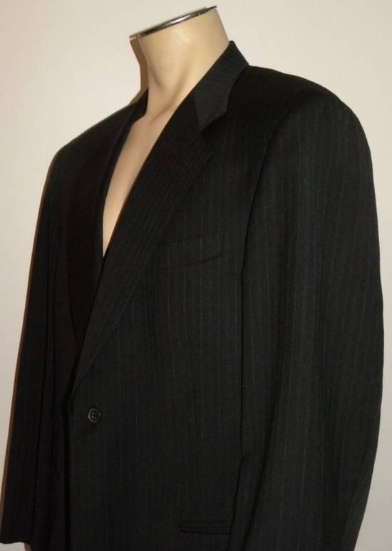 Givenchy Vintage Pin Striped Single Button Blazer Size 42R - 7