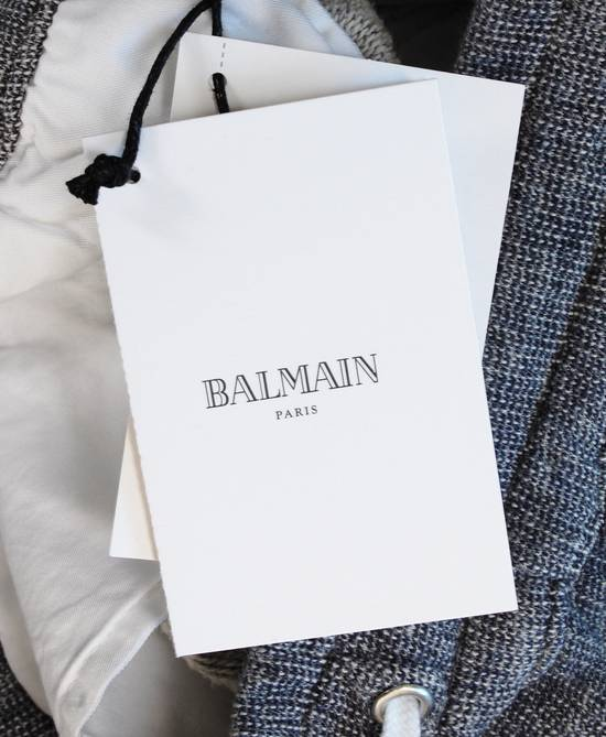Balmain Original New Balmain Baggy Crotch Grey Men Trousers Sweat Pants in size M Size US 32 / EU 48 - 8