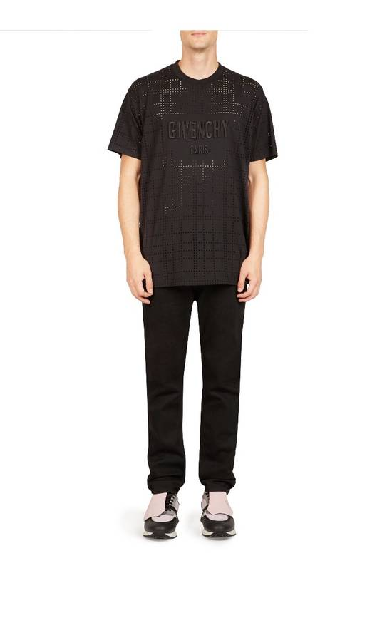 Givenchy Givenchy Perforated Logo Tee Size US M / EU 48-50 / 2 - 2