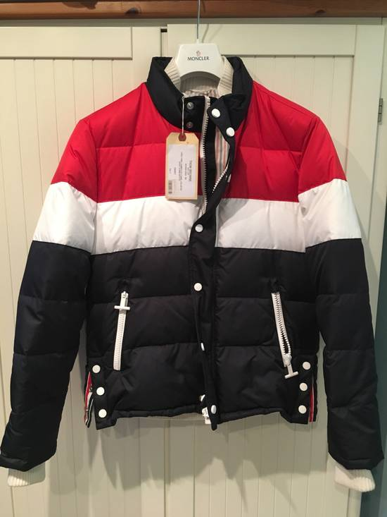 Thom Browne Three Panel Downfilled Funnel Collar Ski Jacket Size US M / EU 48-50 / 2