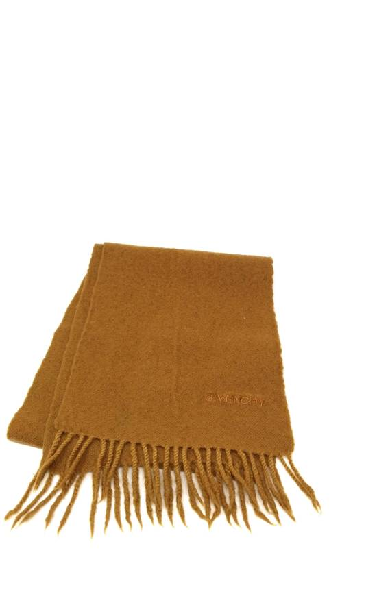 Givenchy Wool scarf beige Size ONE SIZE - 5