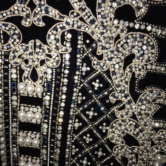 Balmain Balmain Fall 2012 Swarovski Crystal & Pearl Fabergé Tuxedo Size US XXL / EU 58 / 5 - 12