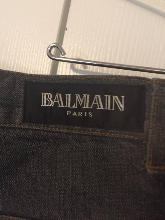 Balmain $1050 Decarnin Oil-wash Denim Size US 32 / EU 48 - 13
