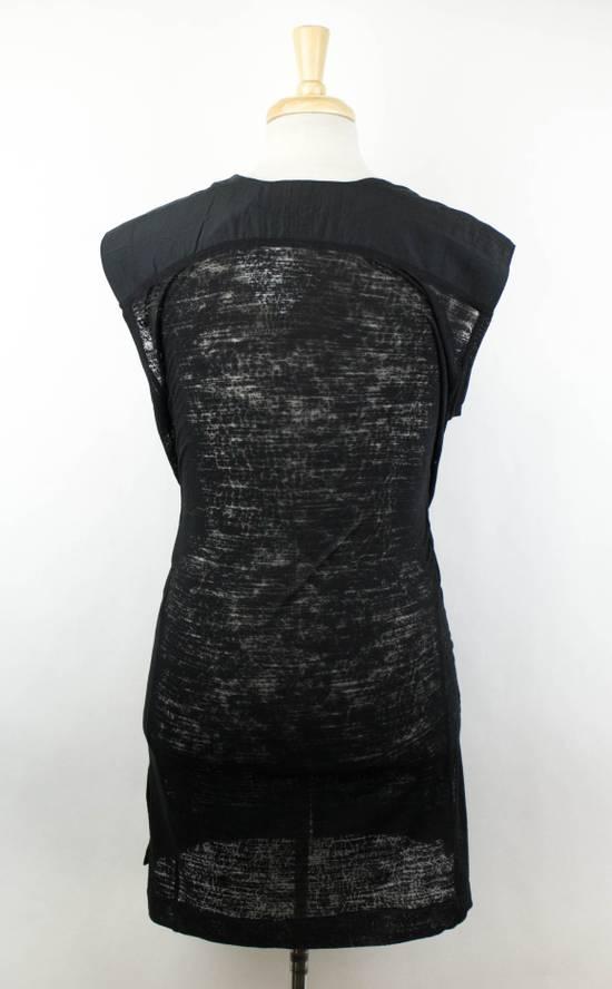 Julius MA_JULIUS Black Rayon Blend Sleeveless Long Crewneck T-Shirt Size 3/M Size US M / EU 48-50 / 2 - 2