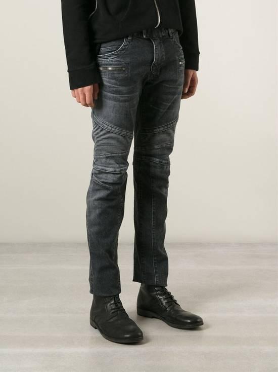Balmain Grey Biker Size US 29 - 3