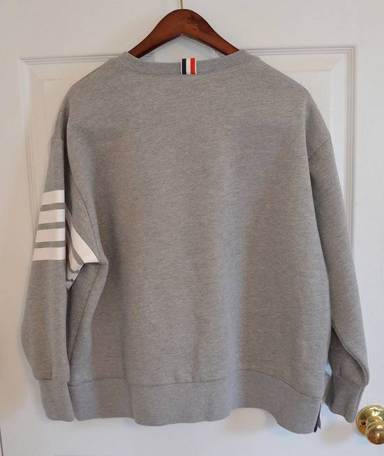 Thom Browne Grey Four Bar Sweater Size US S / EU 44-46 / 1 - 2