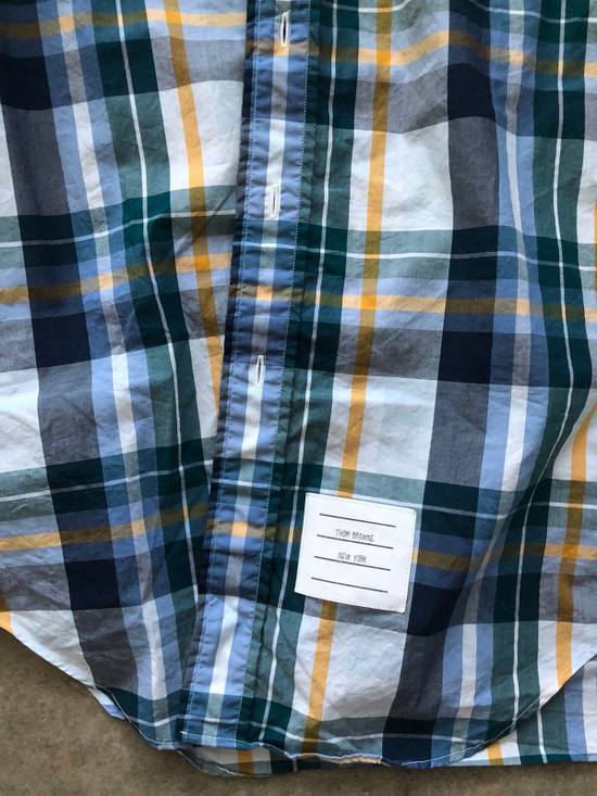 Thom Browne Plaid Shirt Size US M / EU 48-50 / 2 - 1