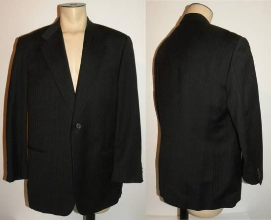 Givenchy Vintage Pin Striped Single Button Blazer Size 42R - 1