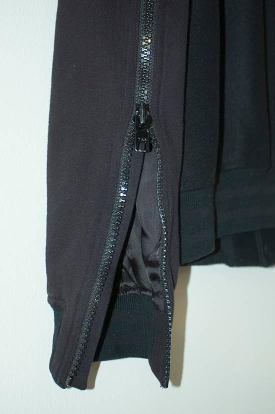Givenchy Fw 11 Black Wool Blend Zip Sleeve Snap Baseball Bomber Jacket Size US L / EU 52-54 / 3