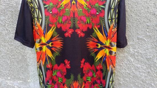 Givenchy $780 Givenchy Birds of Paradise Iris Floral Rottweiler Oversized T-shirt size XS Size US M / EU 48-50 / 2 - 5