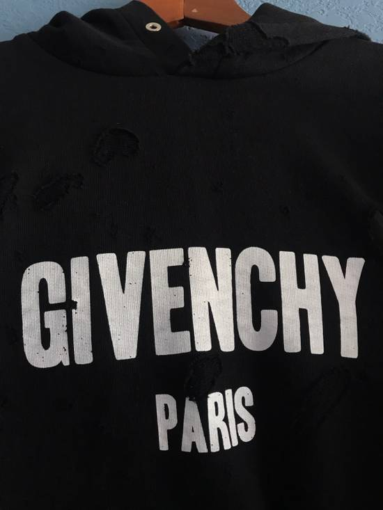 Givenchy Black Givenchy Logo Hoodie Size US XL / EU 56 / 4 - 1