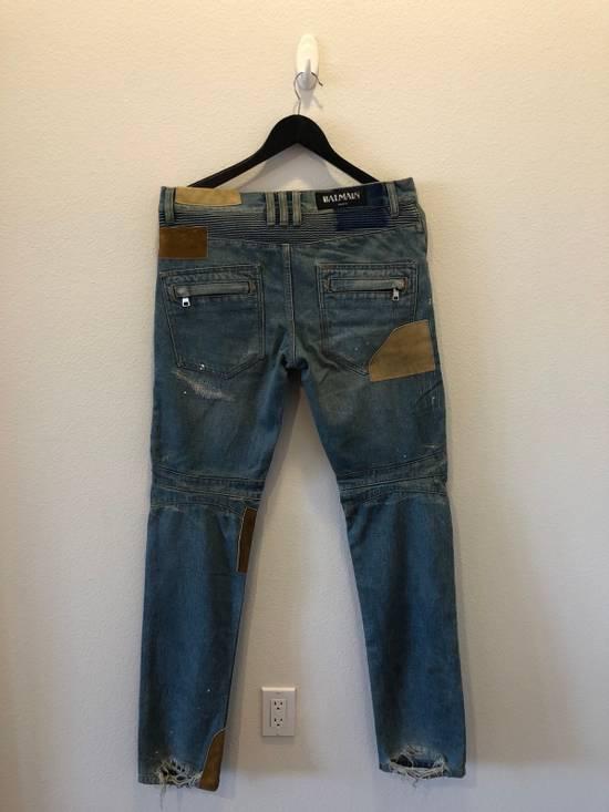 Balmain Patchwork Jeans Size US 30 / EU 46 - 10