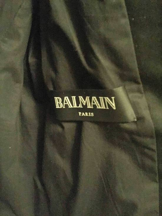 Balmain Balmain Waxed cotton moto jacket Size US M / EU 48-50 / 2 - 2