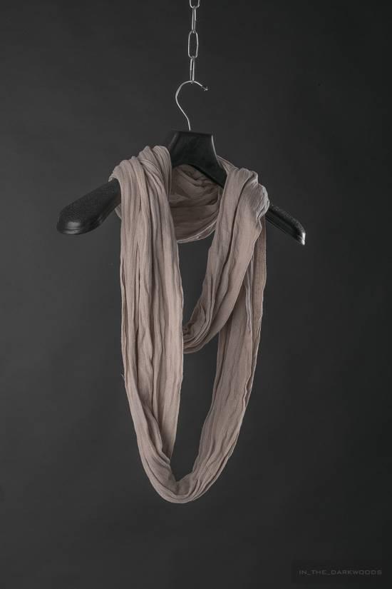 Julius = last drop = 2007SS cotton knit scarf Size ONE SIZE - 1