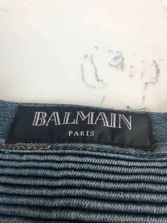 Balmain balmain biker ripped jean Size US 32 / EU 48 - 4