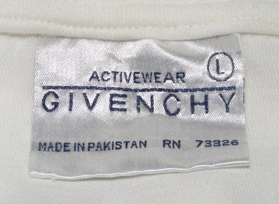 Givenchy Givenchy Activewear Polo, Vintage White, Large, Short Sleeves Size US L / EU 52-54 / 3 - 6