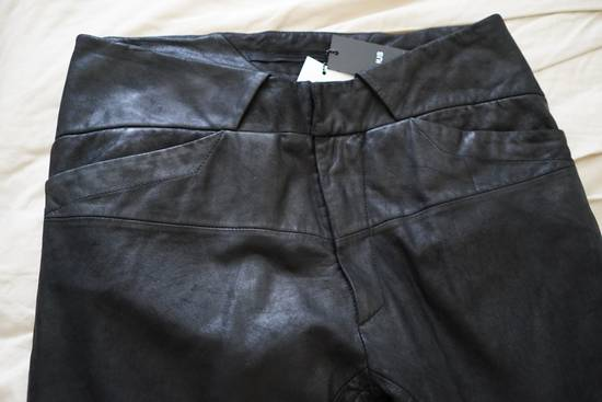 Julius Leather Paneled Biker Pants Size US 30 / EU 46 - 5