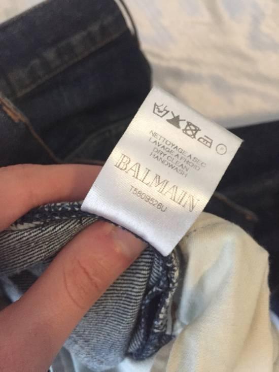 "Balmain $985 Decarnin ""3D"" Jeans Size US 34 / EU 50 - 12"