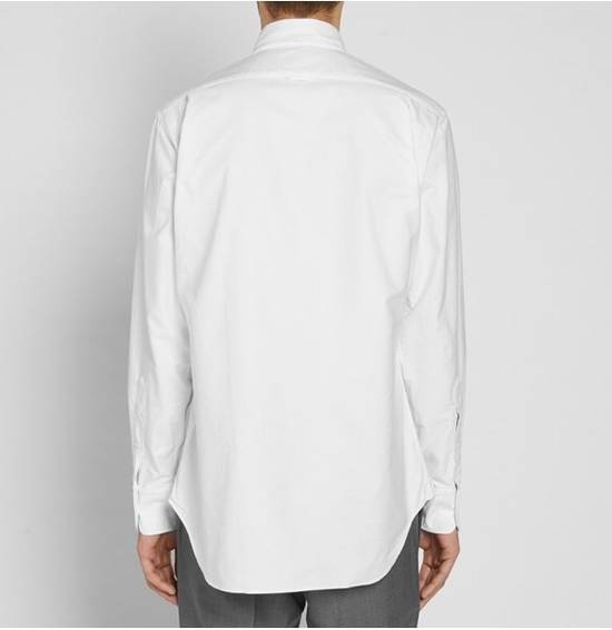 Thom Browne Slim-Fit Button Down Collar Cotton Oxford Shirt (white) Size US XXL / EU 58 / 5 - 1