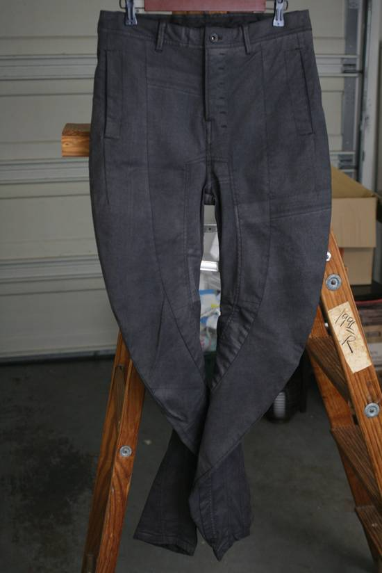Julius Coated Spiral Leg Stacking Denim Size US 32 / EU 48
