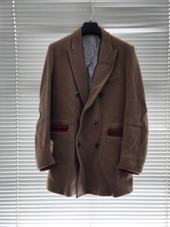 Band Of Outsiders Beige Double Breasted Coat Size US L / EU 52-54 / 3 - 6